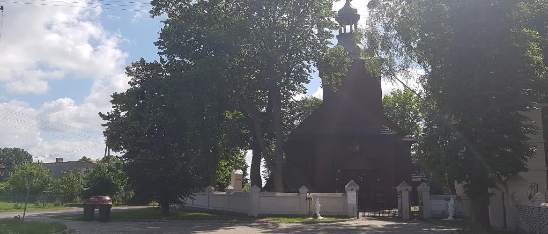 Kościół w Łękach Kościelnych