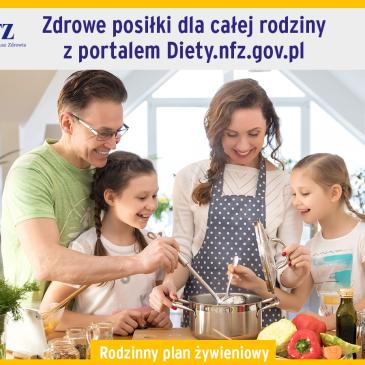 Portal z darmowymi dietami NFZ